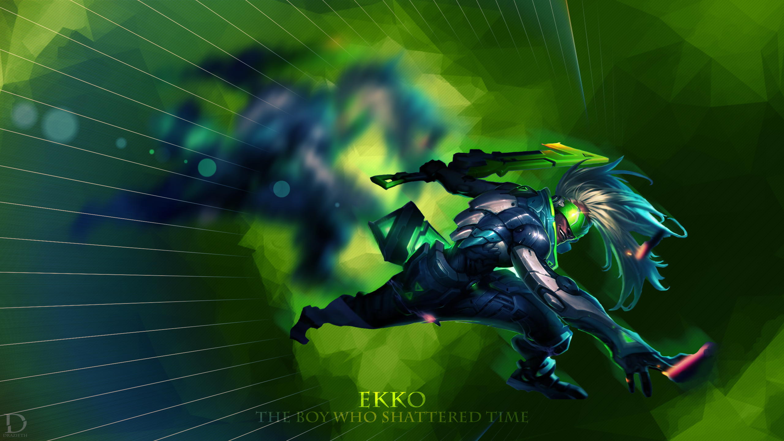 PROJECT: Ekko V2 wallpaper
