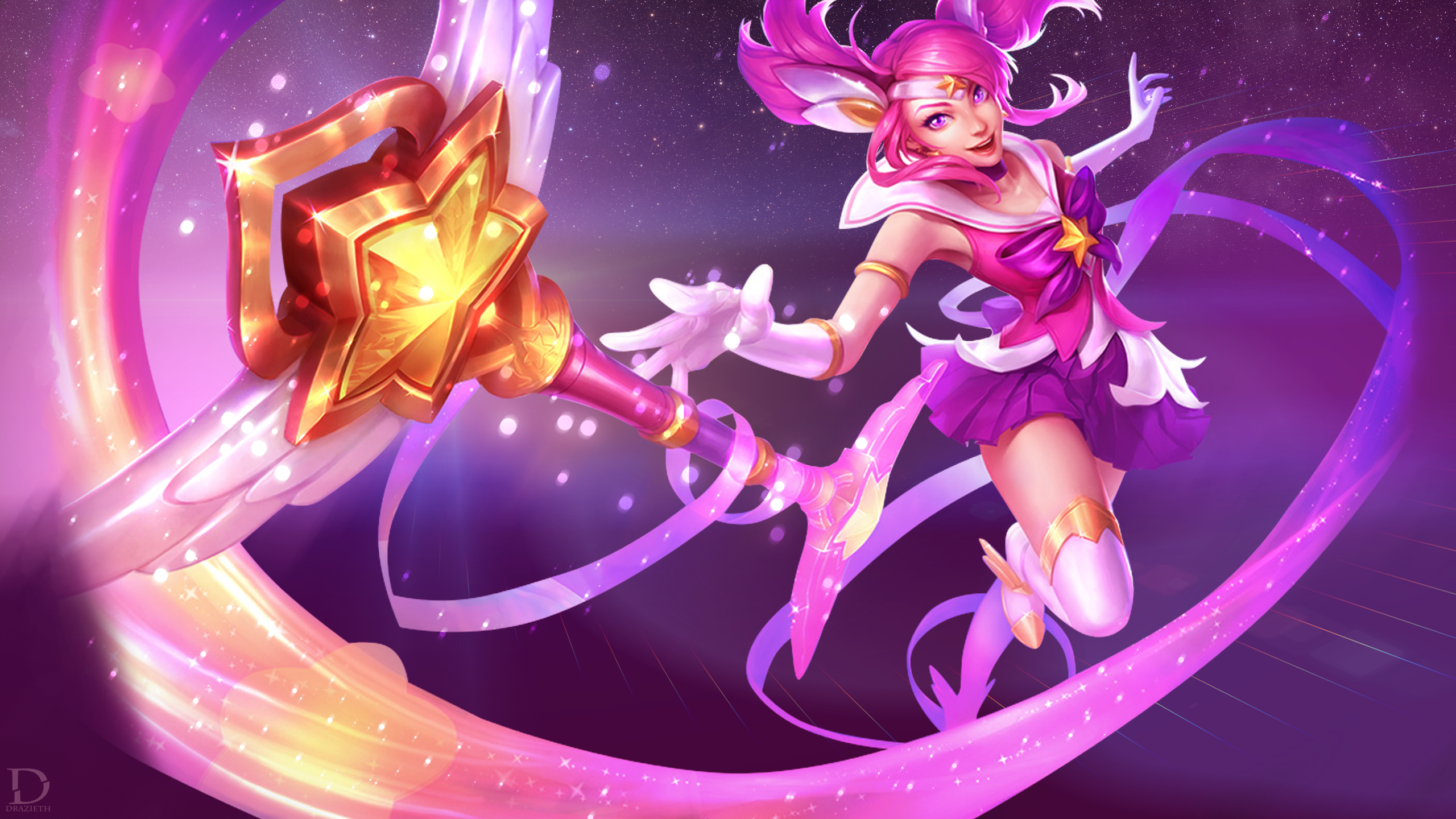 Star Guardian Lux | LoLWallpapers