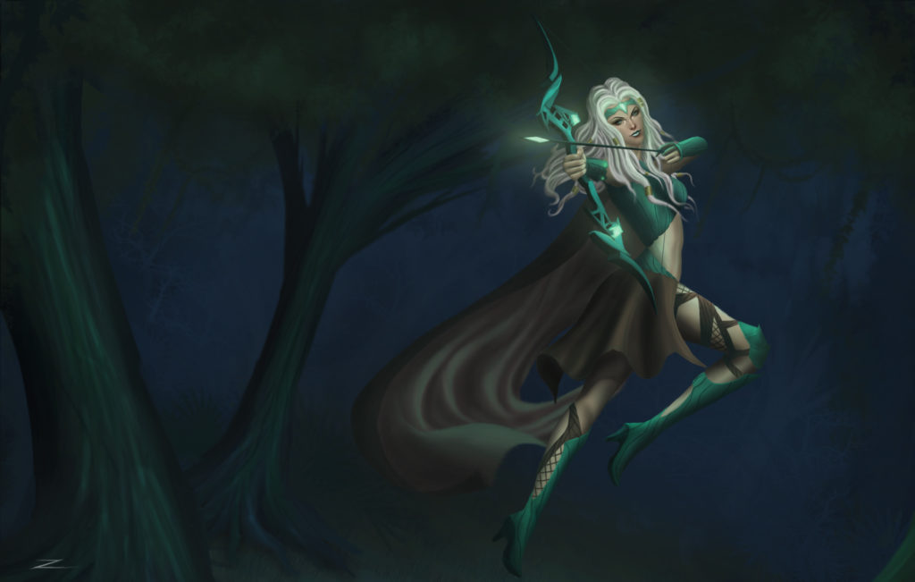 Headhunter Ashe Skin Concept wallpaper