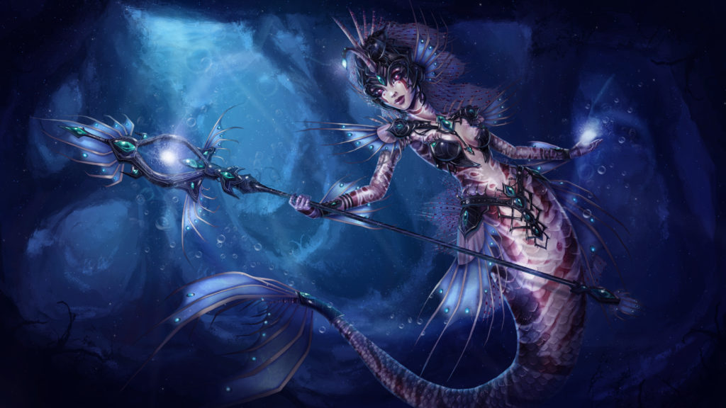Abyssal Beauty Nami Skin Concept wallpaper
