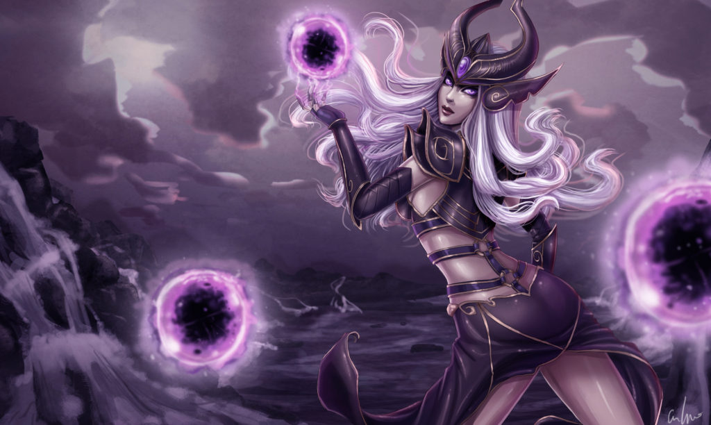 Syndra wallpaper