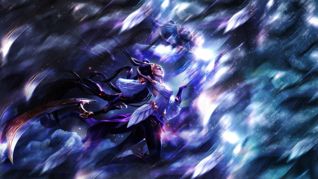 Lunar Goddess Diana wallpaper