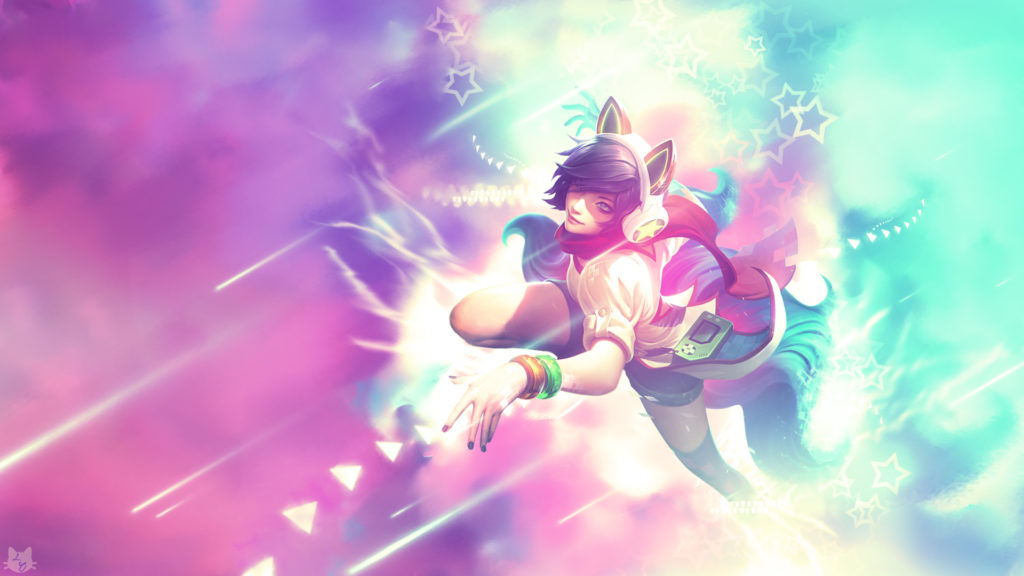 Arcade Ahri wallpaper
