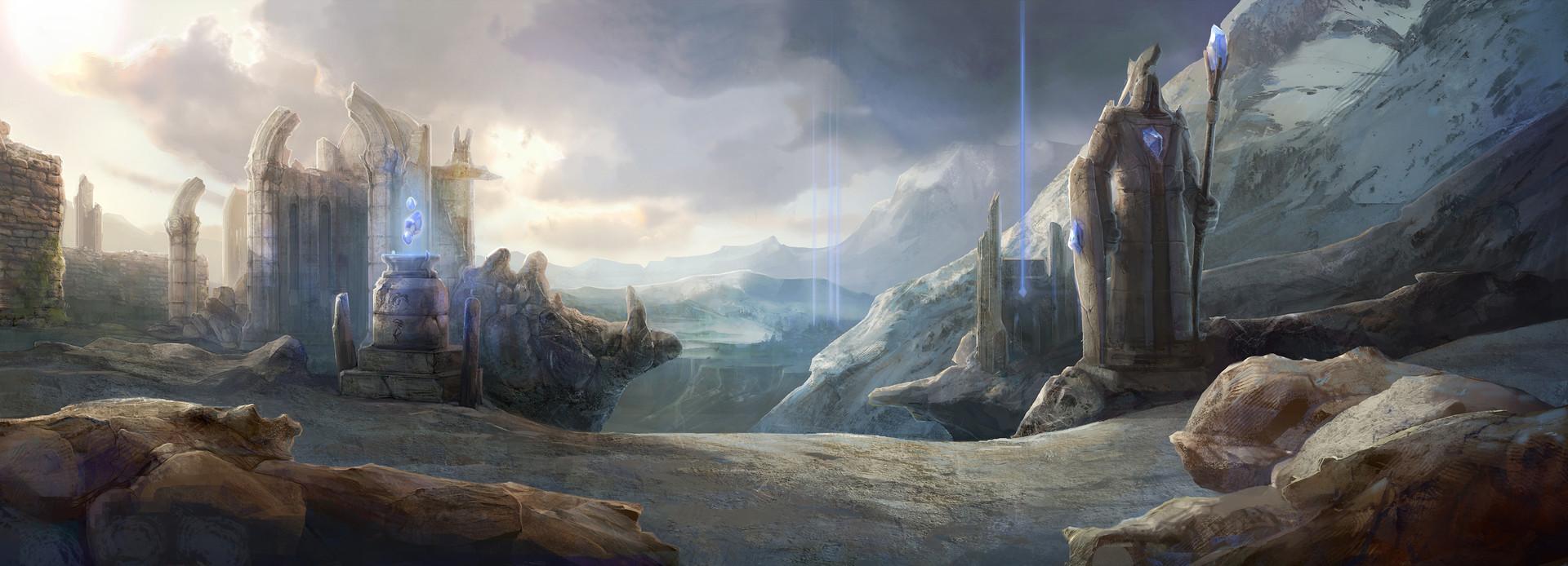 Valoran Mountains wallpaper