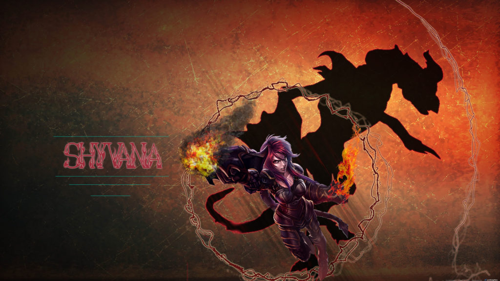 Ironscale Shyvana wallpaper