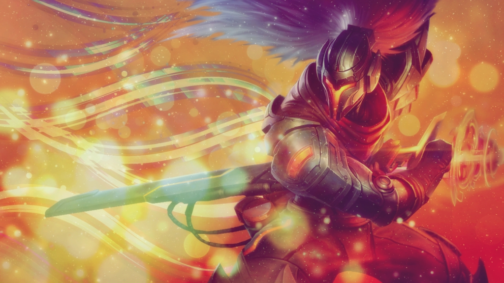 PROJECT: Yasuo wallpaper