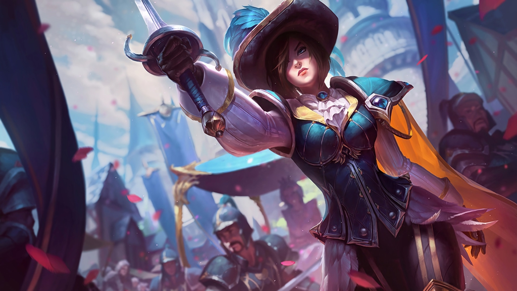 Royal Guard Fiora wallpaper