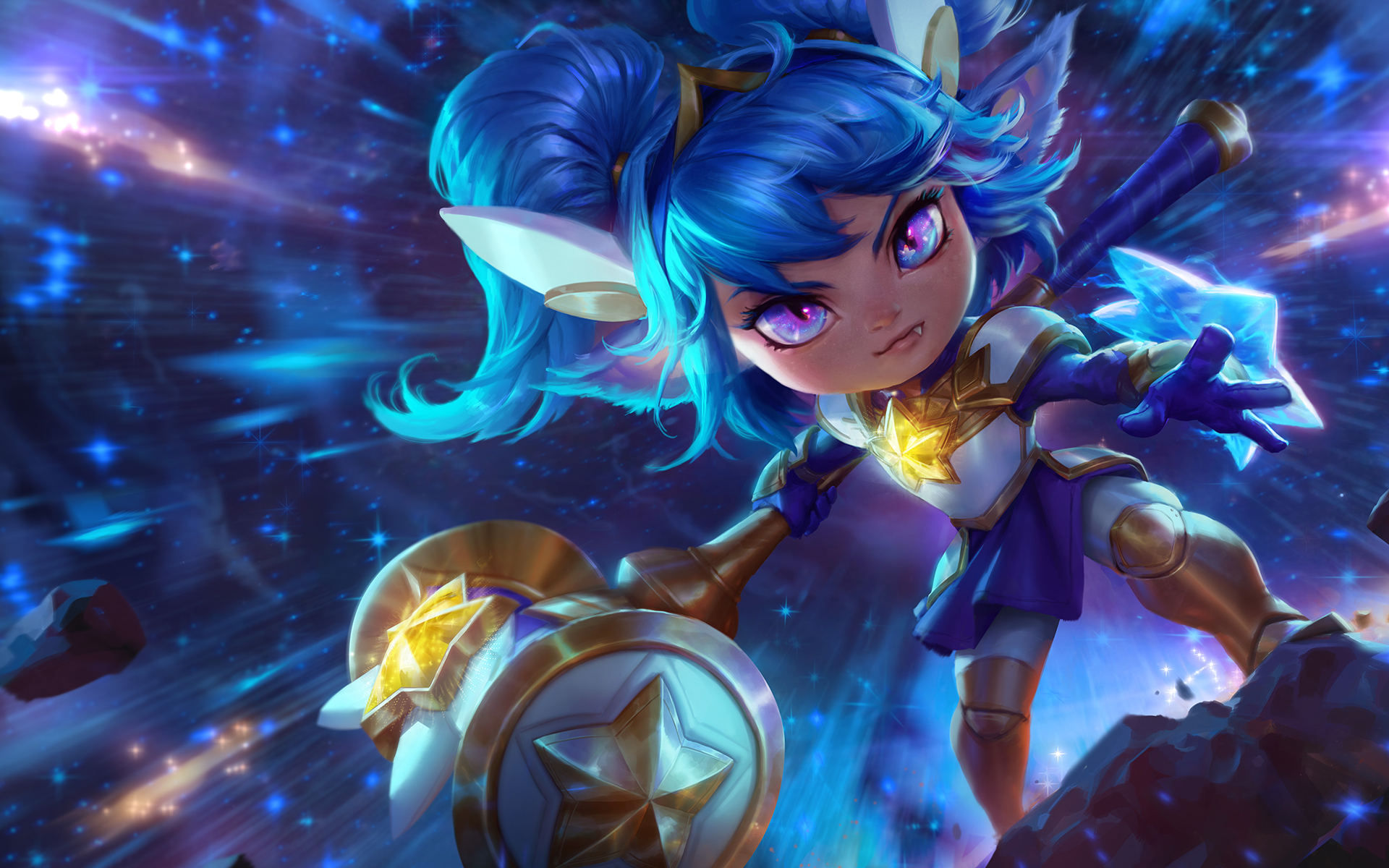 Star Guardian Poppy | LoLWallpapers