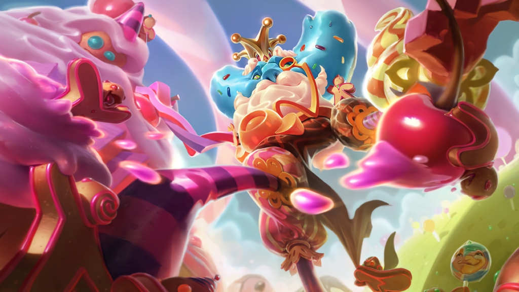 Candy King Ivern wallpaper