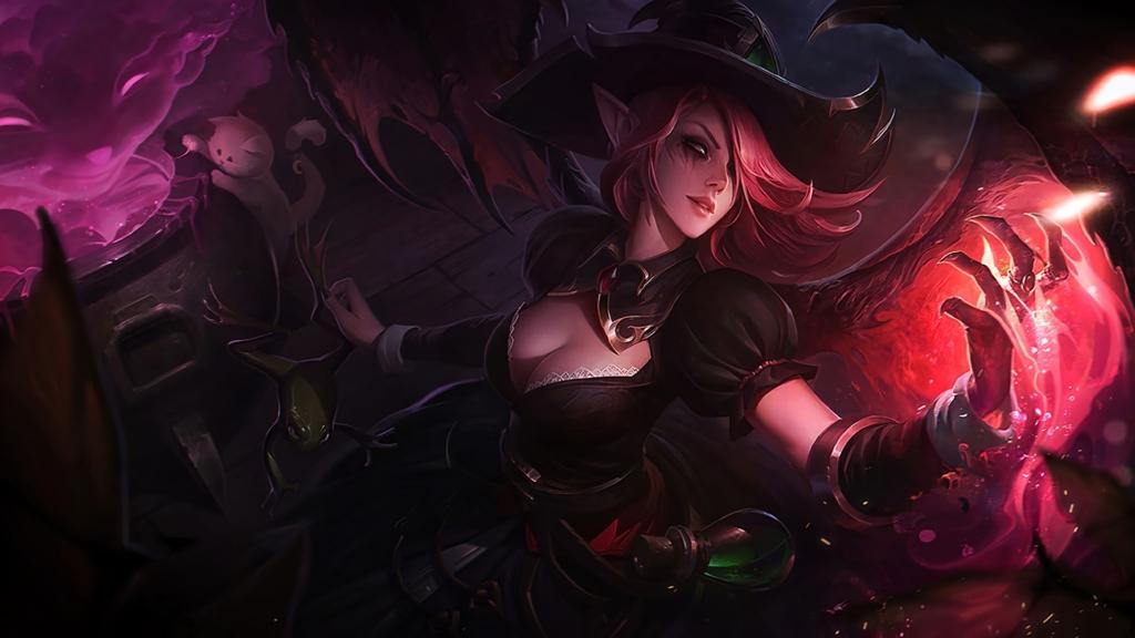 Bewitching Morgana wallpaper