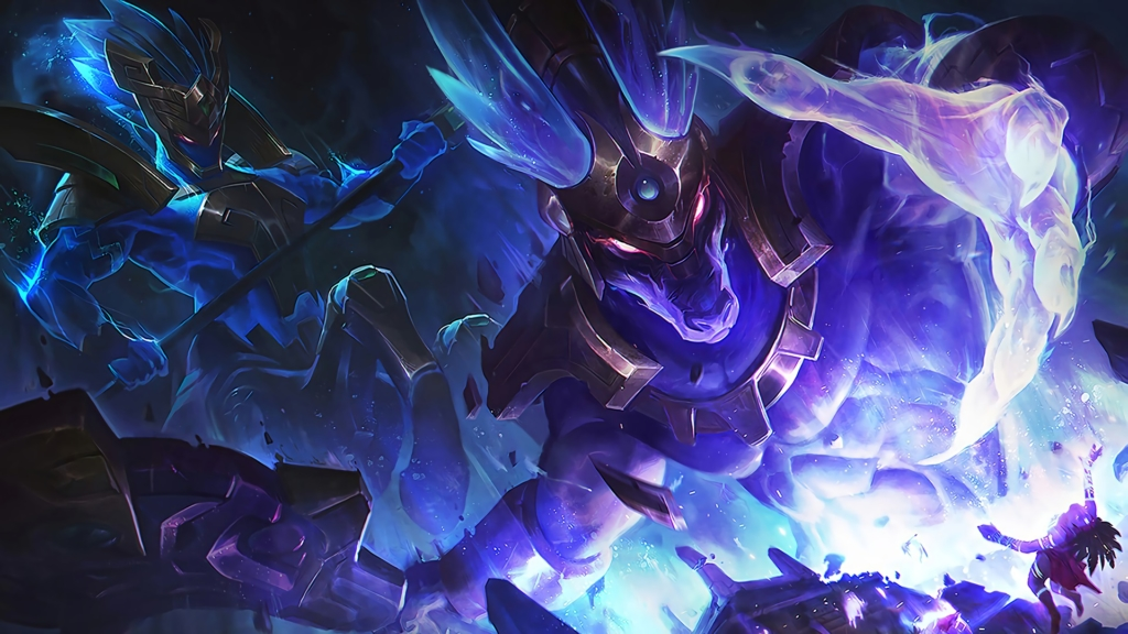 Worldbreaker Nasus & Hecarim wallpaper
