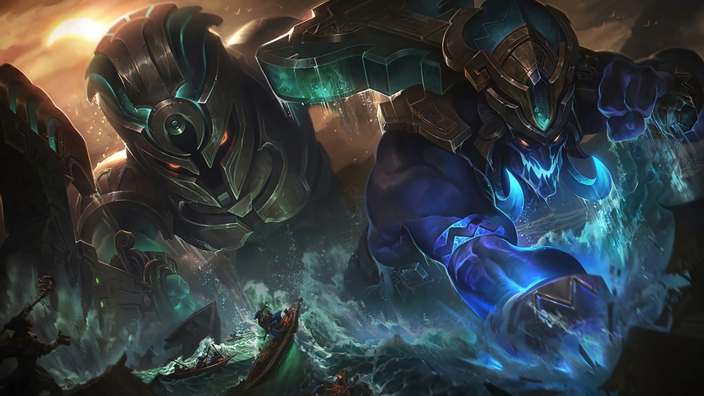 Worldbreaker Trundle & Nautilus wallpaper
