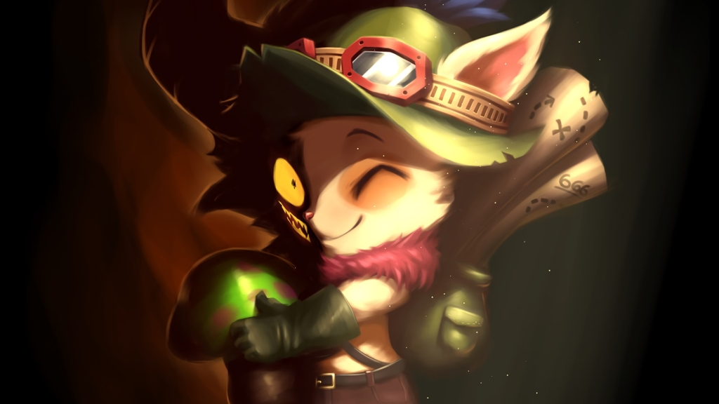 Little Devil Teemo wallpaper