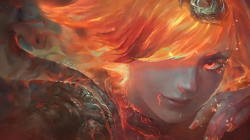 Elemental Lux Fire wallpaper