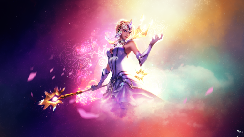 Elementalist Lux wallpaper