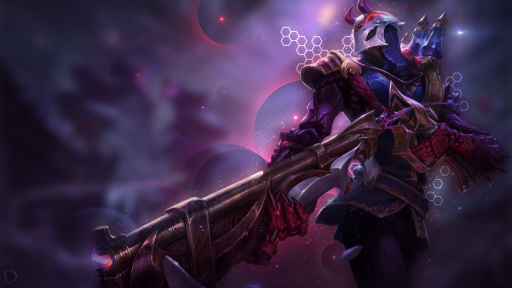 Blood Moon Jhin wallpaper
