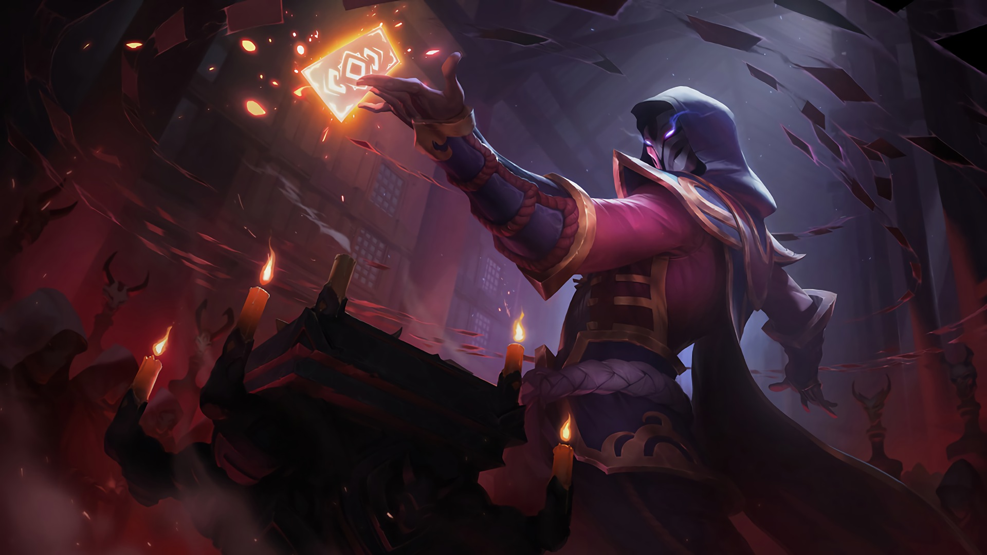 Blood Moon Twisted Fate Lolwallpapers