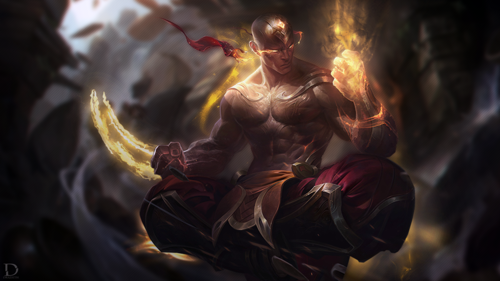 God Fist Lee Sin wallpaper