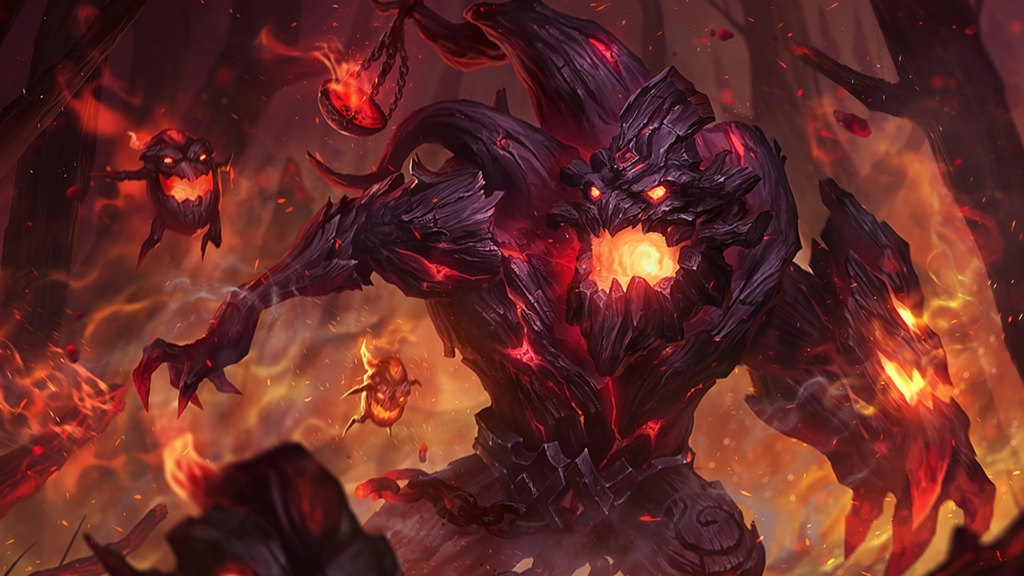 Charred Maokai wallpaper