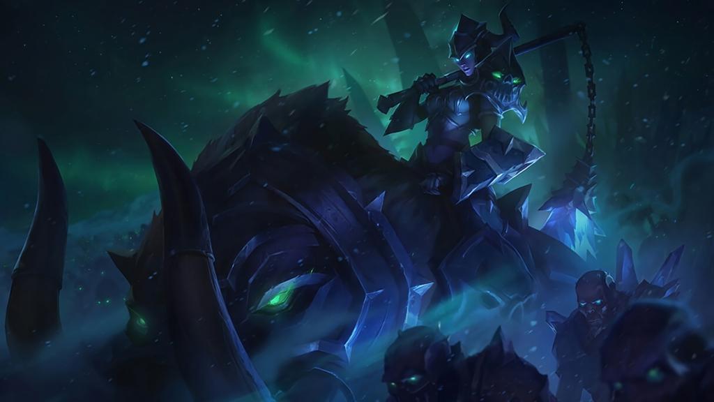 Darkrider Sejuani wallpaper