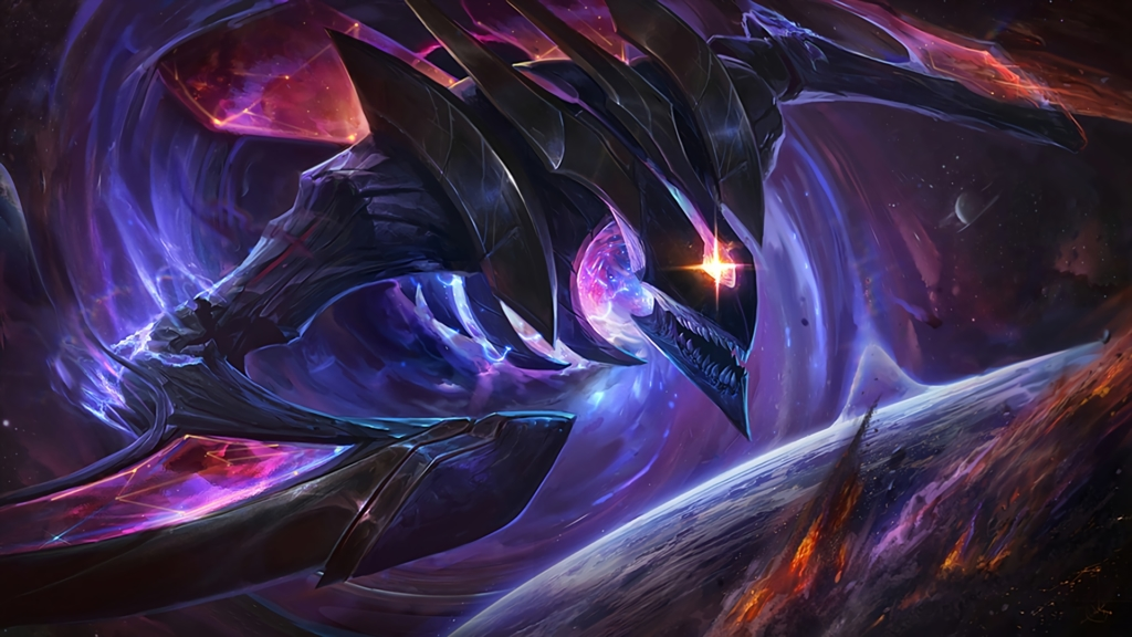 Dark Star Kha'Zix wallpaper