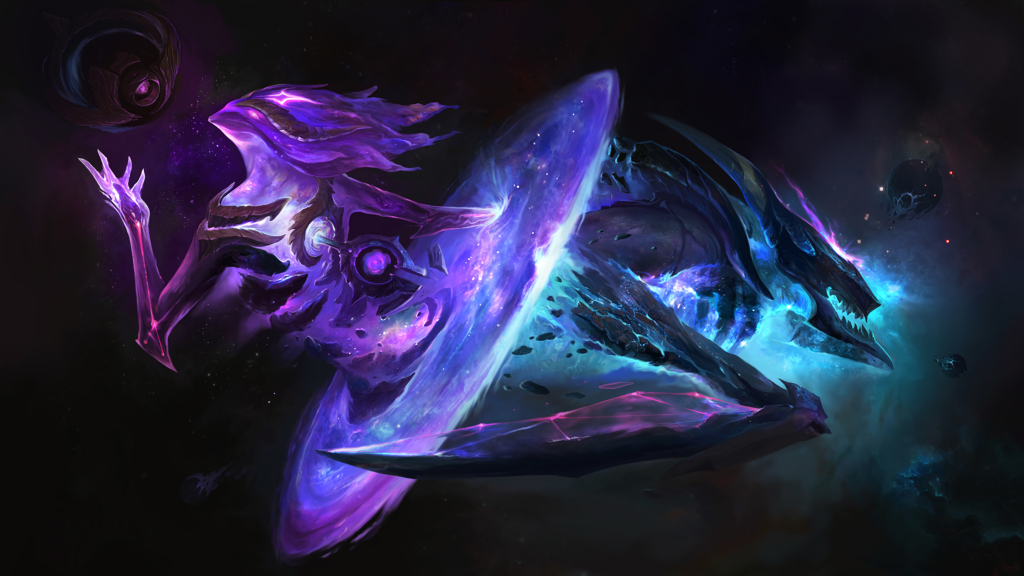 Dark Star Orianna & Kha'Zix wallpaper