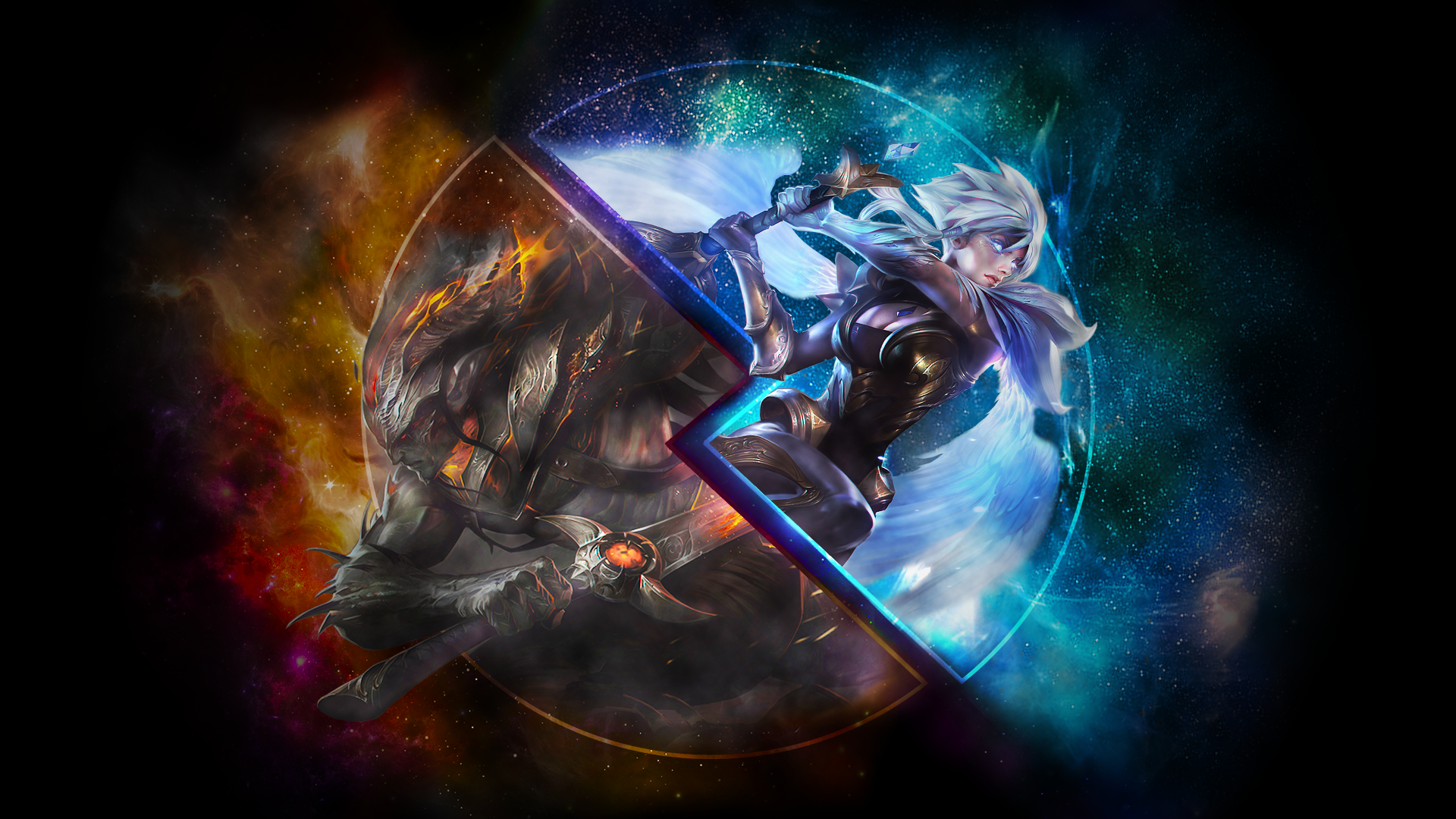 Yasuo Riven Lolwallpapers