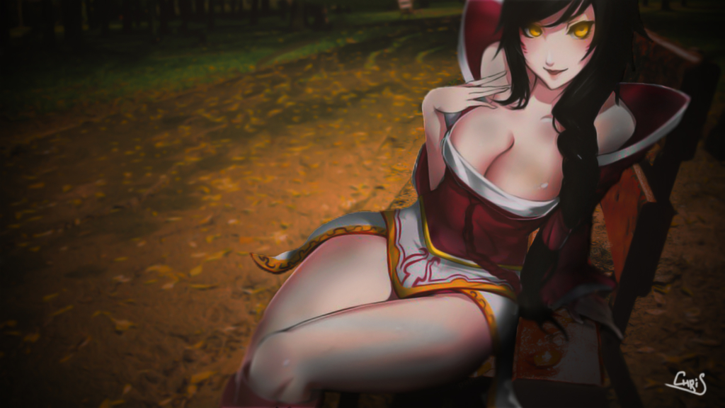 Ahri wallpaper
