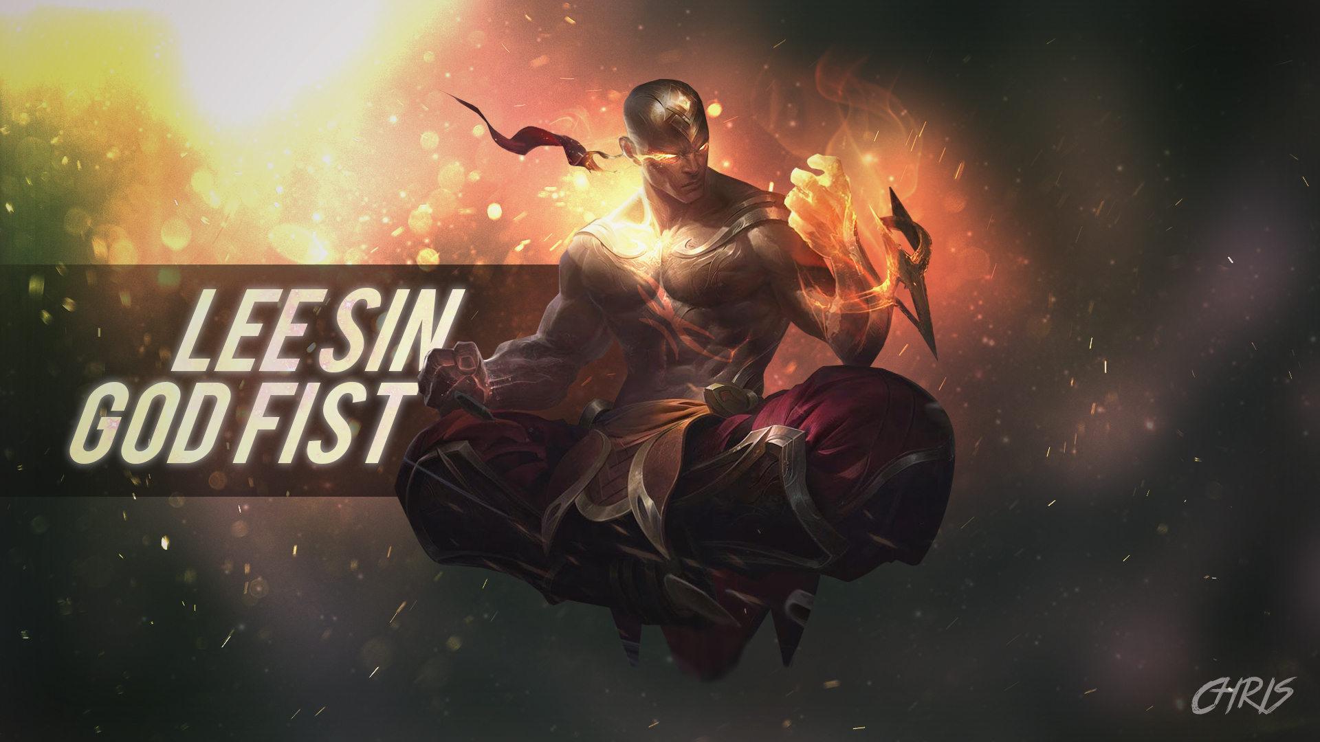 God Fist Lee Sin Lolwallpapers