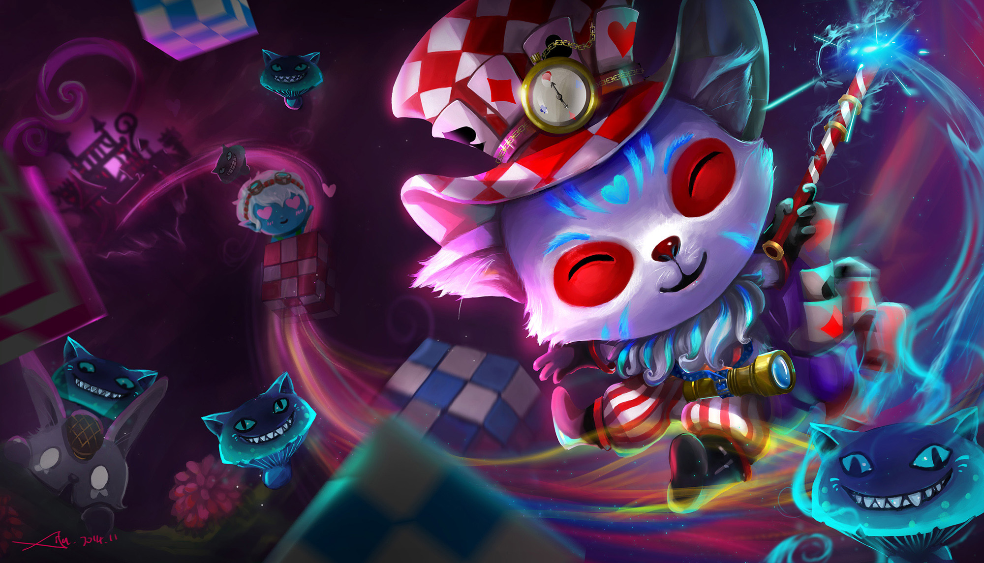 Mad HatterTeemo wallpaper