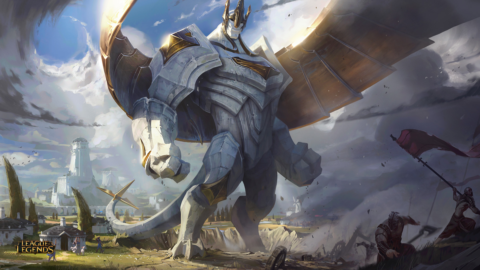 Galio The Colossus wallpaper